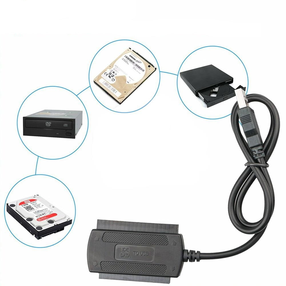 Adaptador SATA IDE para USB