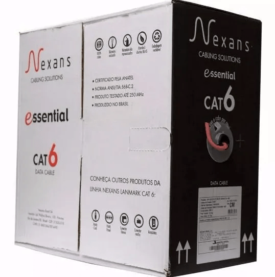 Cabo de Rede CAT6 Nexans Essentials