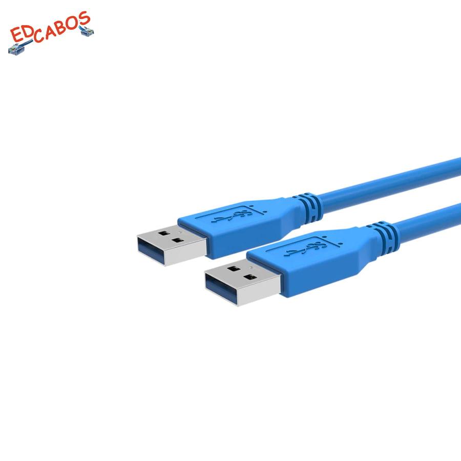 Cabo USB 3.0 Macho x Macho 1,5 Metros