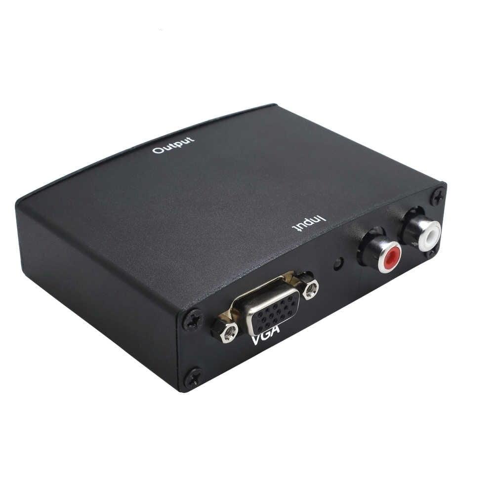 Conversor VGA para HDMI com Fonte