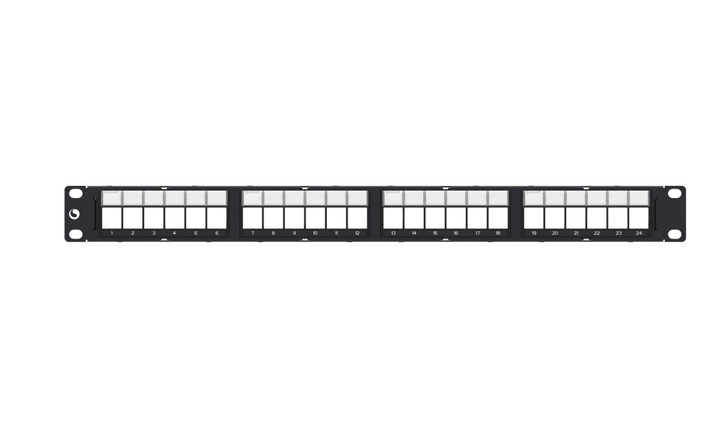 Patch Panel Descarregado 24P Blindado Amp Commscope