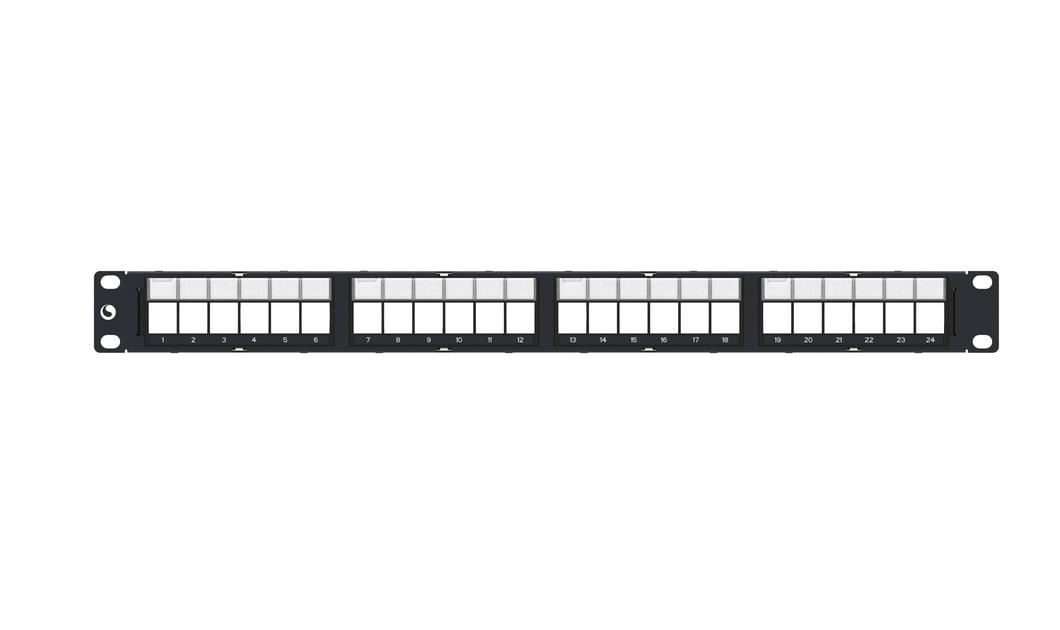 Patch Panel Descarregado 24 Portas AMP Commscope 76037040