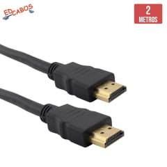 Cabo HDMI 2 Metros Full HD 1080P
