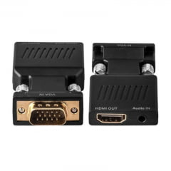 Adaptador VGA para HDMI Ativo