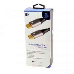 Cabo DisplayPort 1.4 8k Gold ChipSce 5+