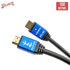 Cabo HDMI 2.0 100 Metros 4K Ultra HD 19 Pinos @60Hz Penton