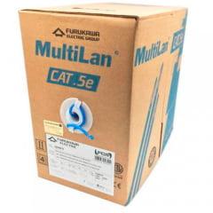 Cabo de Rede Furukawa Multilan CAT5e Azul