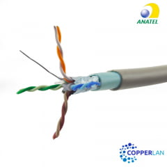 Cabo de Rede CAT6 Blindado Externo UV Copperlan