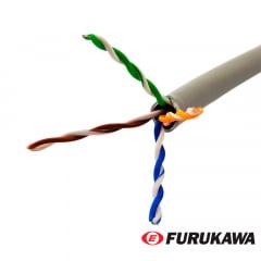 Cabo de Rede CAT6 Furukawa Gigalan Cinza