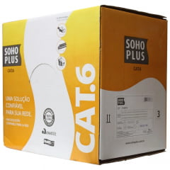 Patch Cord CAT6 Furukawa SohoPlus Gigabit  Azul