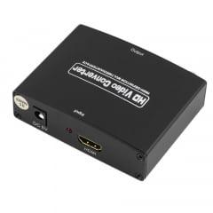 Conversor HDMI para Vídeo Componente YPBPR com Fonte