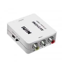 Conversor RCA para HDMI com Cabo USB