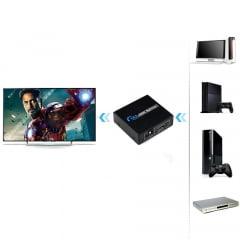 Splitter HDMI 1X2 4K Ativo
