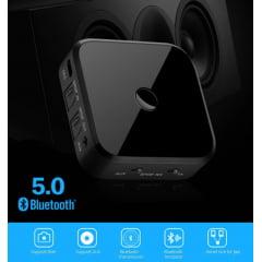 Transmissor e Receptor Bluetooth Óptico 5.0v