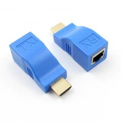 Extensor HDMI 30 Metros com 1 RJ45