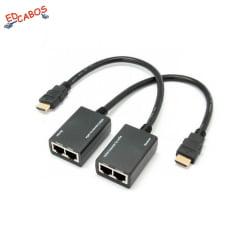 Extensor HDMI 30 Metros Passivo com Rabicho