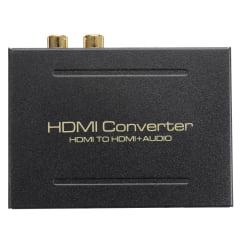 Extrator de Áudio HDMI Digital e Analógico Ativo