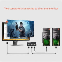 Switch VGA 2 Portas 2x1