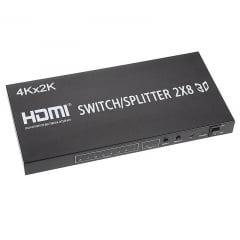 Splitter HDMI 2X8 Full HD 1080P